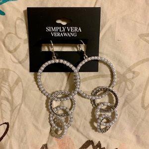 Simply Vera Vera Wang Pearl Earrings
